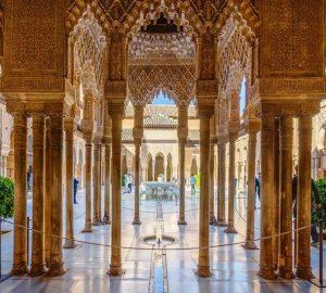 Великолепная и чудесная Альгамбра