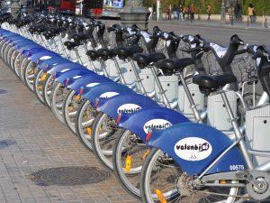 Прокат городских велосипедов Valenbisi в Валенсии
