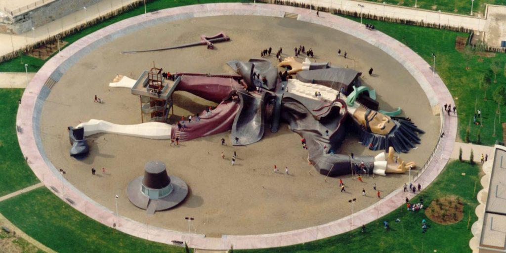 Парк Гулливера в Валенсии