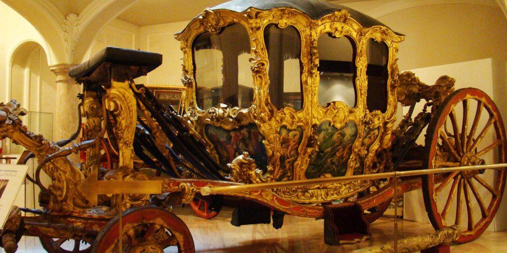 Музей керамики в Валенсии. Карета