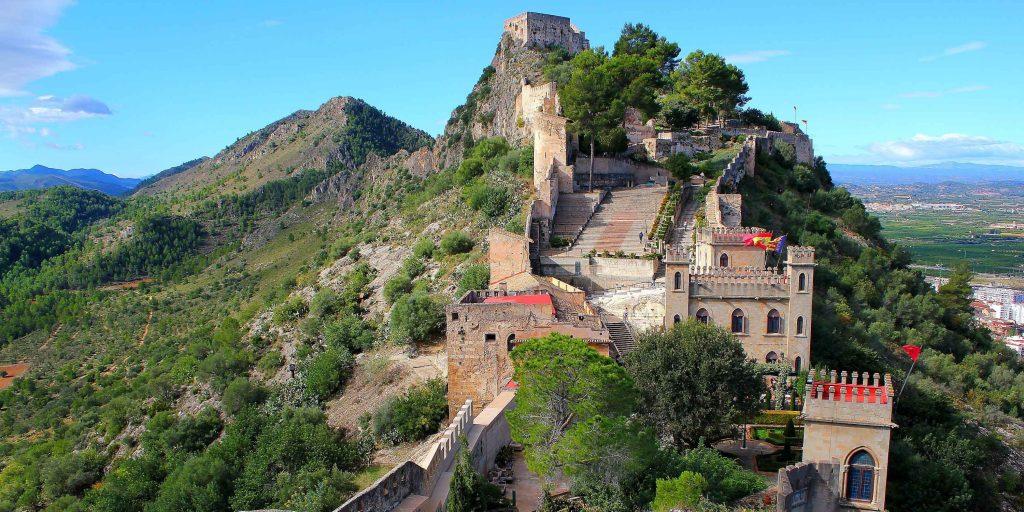 Замок Шатива (Castillo de Xàtiva). Испания