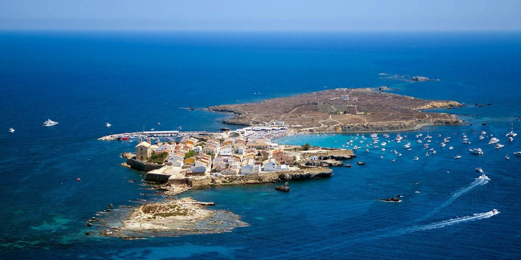 Остров Табарка (Isla Tabarca). Испания