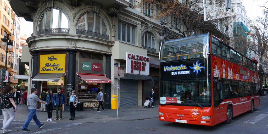 Поездка по Валенсии на автобусе