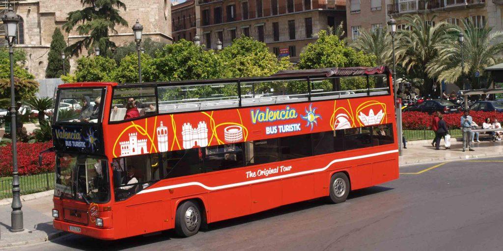 Туристический автобус Валенсии